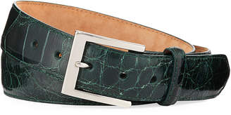 W.KLEINBERG W. Kleinberg Men's American Alligator Belt