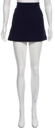Chloé Virgin Wool Mini Skirt