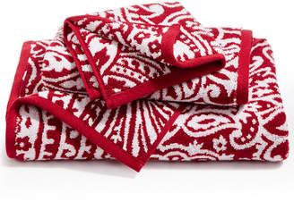 Charter Club Elite Cotton Fashion Paisley Bath Towel, Created for Macy's Bedding