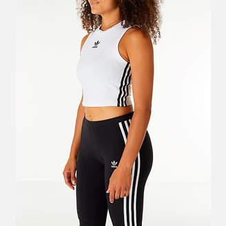 adidas Women's Athletics Sport ID Crop Tank Top