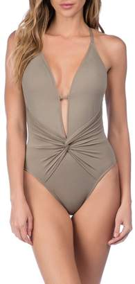La Blanca Swimwear Island Goddess One-Piece Swimsuit