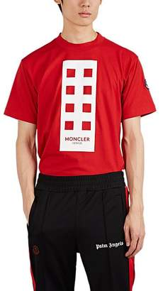 """Palm Angels 8 MONCLER Men's """"Im So High"""" Cotton T-Shirt - Red"""