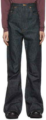 Kozaburo Indigo Selvedge 3D Bootcut Jeans