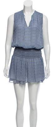 Ulla Johnson Silk Geometric Print Dress