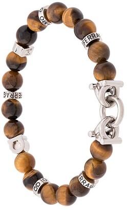 Salvatore Ferragamo beaded bracelet