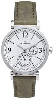 Lucky Brand Carmel Boyfriend Leather Strap Watch