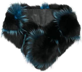 Cara Mila Marlene Cross-Pattern scarf