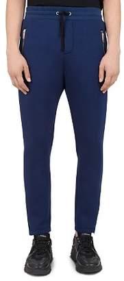 The Kooples Zip & Drawstring Jogger Pants