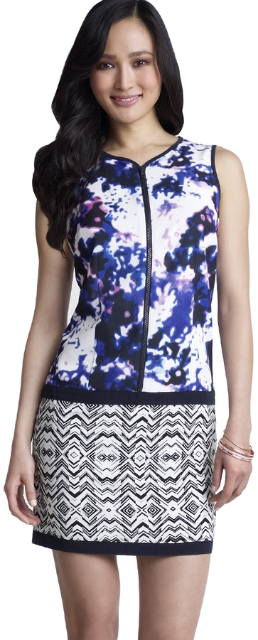 The Limited Forenza Mixed Print Dress