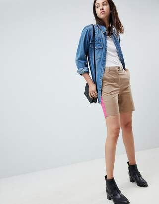 Asos DESIGN City Shorts With Side Stripe