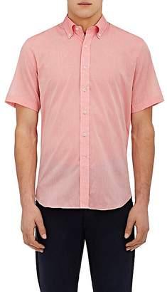 Barneys New York Men's Cotton Voile Shirt