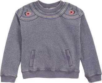 O'Neill Embroidered Fleece Sweatshirt