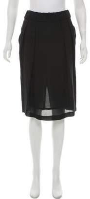 Francesco Scognamiglio Knee-Length Silk Skirt