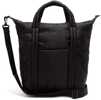Maison Margiela Padded Topstitched Tote Bag - Mens - Black