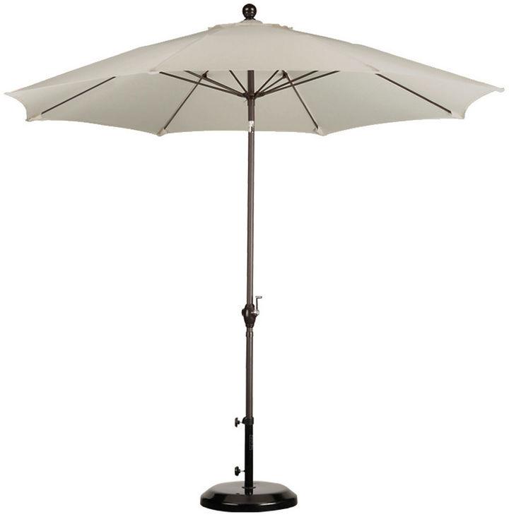 One Kings Lane 9' Market Umbrella, Taupe