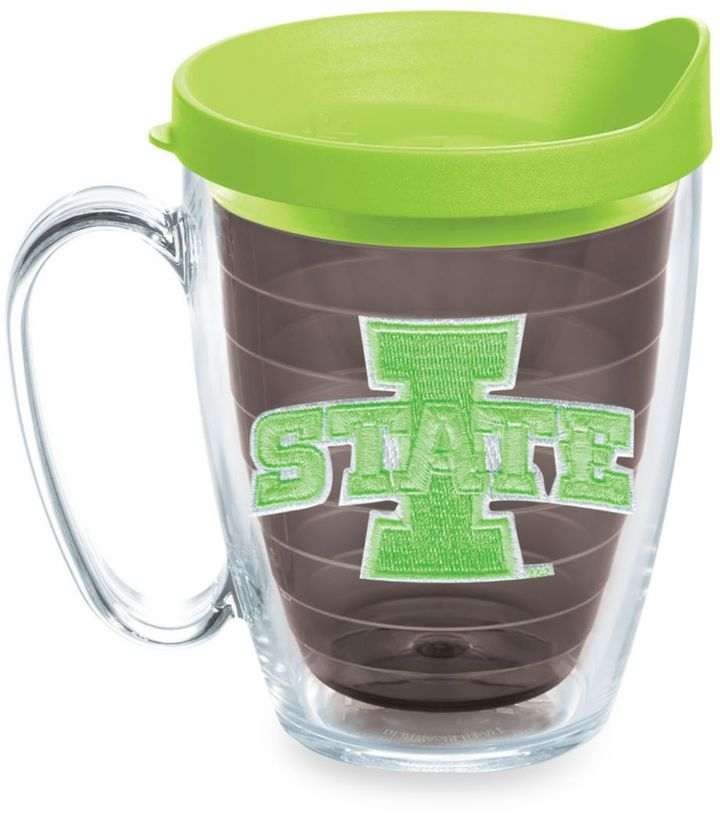 Tervis® Iowa State Cyclones 15-Ounce Colored Emblem Mug with Lid in Neon Green