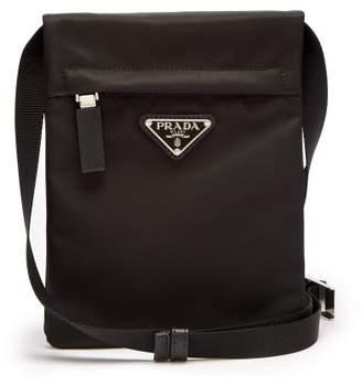 Prada - Nylon Cross Body Bag - Mens - Black