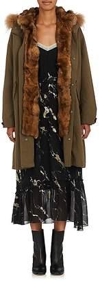 Pas De Calais Women's Fur Embellished Parka