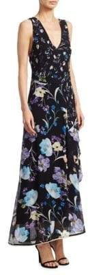 3.1 Phillip Lim Tiered Floral Silk Maxi Dress