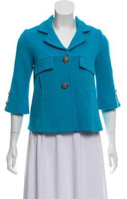 Smythe Wool Quarter Sleeve Blazer Jacket