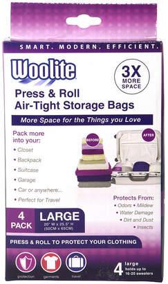 KENNEDY INTERNATIONAL 4 Piece Hand Roll Vacuum Storage Bag 20 X 20.50