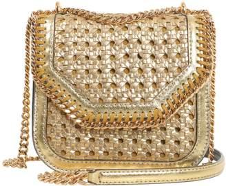 Stella McCartney Falabella Box Mini Wiker Shoulder Bag