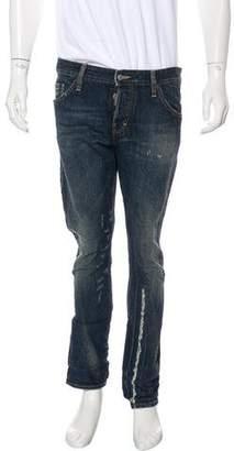 DSQUARED2 Kenny Twist Skinny Jeans