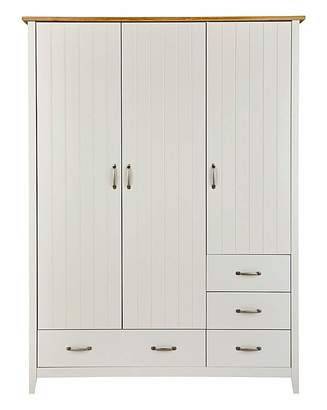 Fashion World Somerset 3 Door 4 Drawer Wardrobe