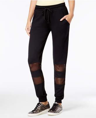 Material Girl Active Juniors' Colorblock Sweatpants, Created for Macy's