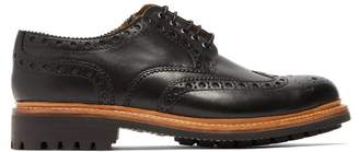 Grenson Archie Leather Brogues - Mens - Black