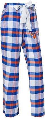 Concepts Sport Women New York Knicks Headway Flannel Pajama Pants