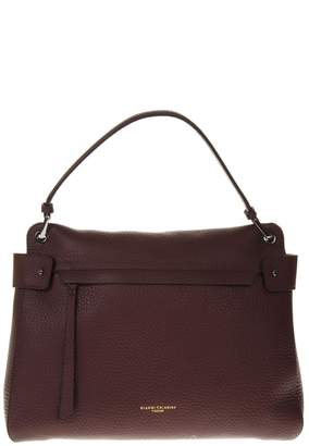 Gianni Chiarini Merlot Color Leather Bag