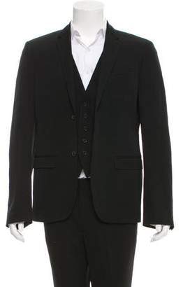 Neil Barrett Layered Wool Blazer
