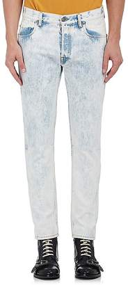 Gucci Men's Acid-Washed Slim Jeans