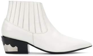 Toga Pulla pointed western-style boots