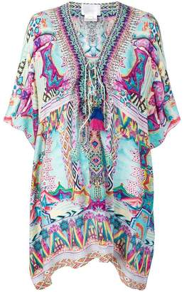 Camilla printed kaftan dress