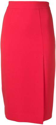 P.A.R.O.S.H. fitted midi skirt