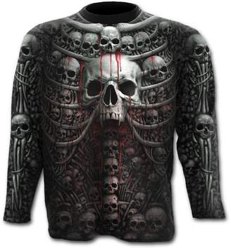 Spiral - DEATH RIBS - Allover Longsleeve T-Shirt Plus Size - 4XL