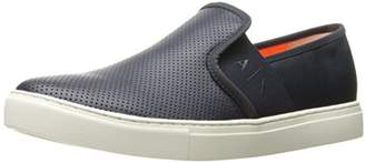 Armani Exchange A|X Men's Perforated Slip On Moccasin