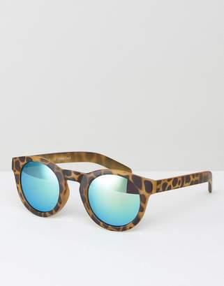 A. J. Morgan AJ Morgan Apolla Round Sunglasses In Tort