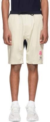 Y-3 Indigo James Harden Sateen Shorts