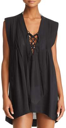 Vix Iza Caftan Swim Cover-Up