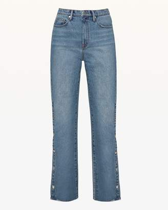 Juicy Couture JXJC Side Snap Bootcut Jean