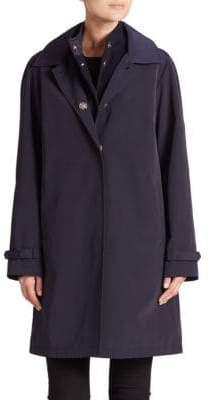 Jane Post Double Long-Sleeve Coat