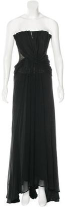 La Perla Strapless Lace Gown $595 thestylecure.com