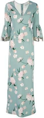 Sachin + Babi floral print Tower gown