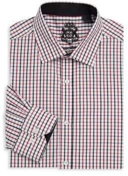 English Laundry Graphic Cotton Dress Shirt