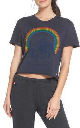 Aviator Nation Mountain Rainbow Tee