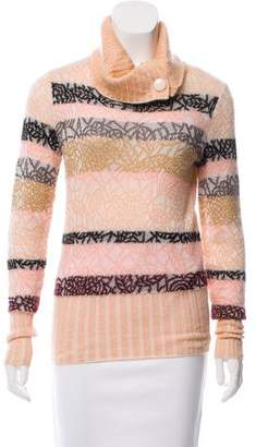 Missoni Mohair-Blend Turtleneck Sweater