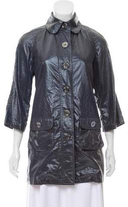 Michael Kors Structured Rain Coat